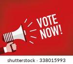 vote now  | Shutterstock .eps vector #338015993