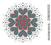 green retro illustration vector ... | Shutterstock .eps vector #338030333