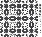 geometrical seamless pattern.... | Shutterstock .eps vector #338075237