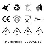 recycling icon. recycling ... | Shutterstock .eps vector #338092763