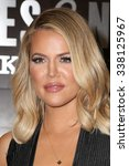los angeles   nov 9   khloe... | Shutterstock . vector #338125967