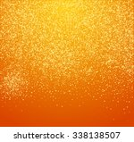falling snow on the orange... | Shutterstock .eps vector #338138507
