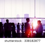 business people meeting... | Shutterstock . vector #338182877
