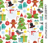Christmas Background  Vector...