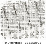 black and white old grunge... | Shutterstock . vector #338260973