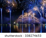 Fireworks Display In Venice