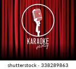 vintage white silhouette... | Shutterstock .eps vector #338289863