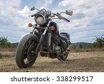 Freedom.old Motorbike Under Sky