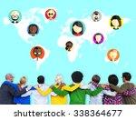 global community world people... | Shutterstock . vector #338364677