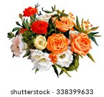������, ������: Bouquet of roses lisianthus