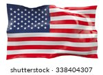 flag of the united states of... | Shutterstock . vector #338404307