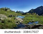 alpine lakes | Shutterstock . vector #338417027
