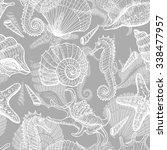 Sea Seamless Pattern. Original...