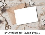 stylish branding mockup to... | Shutterstock . vector #338519513