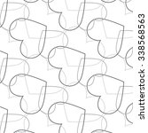 vector geometric  pattern... | Shutterstock .eps vector #338568563