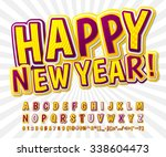 creative yellow purple high... | Shutterstock .eps vector #338604473