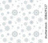 christmas seamless pattern.  | Shutterstock .eps vector #338629127