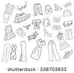 clothes | Shutterstock .eps vector #338703833