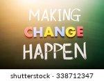 Making Hope Happen Concept...