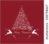 christmas tree | Shutterstock .eps vector #338758667