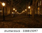 Promenade With Streetlights