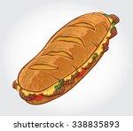 hand drawn vector illustration... | Shutterstock .eps vector #338835893
