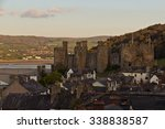 conwy castle located in...