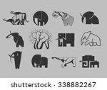 stock vector illustration set...