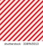 Red White Diagonal Stripe...