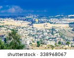 view of the old city of... | Shutterstock . vector #338968067