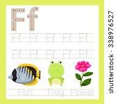 illustrator of f exercise a z... | Shutterstock .eps vector #338976527