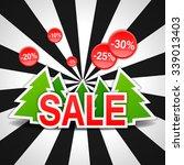 sale  discount  new year ... | Shutterstock .eps vector #339013403