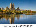 central park and manhattan ... | Shutterstock . vector #339054293