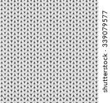knit yarn embroidery pattern... | Shutterstock .eps vector #339079577
