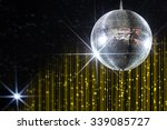 disco ball with stars in... | Shutterstock . vector #339085727