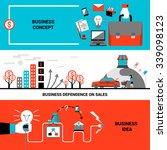 business concept idea... | Shutterstock .eps vector #339098123