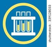 test tubes vector icon. style... | Shutterstock .eps vector #339128033