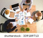 image of business partners... | Shutterstock . vector #339189713