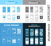 mobile app wireframe ui kit 5....
