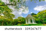 the bandstand  or gazebo  at... | Shutterstock . vector #339267677
