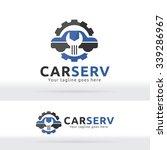 car service garage  logo  shop...   Shutterstock .eps vector #339286967