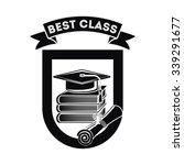 best class graduation design ... | Shutterstock .eps vector #339291677