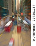 blur abstract city street... | Shutterstock . vector #339301157