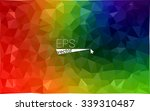 multicolor dark geometric...