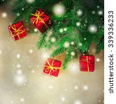 christmas gifts | Shutterstock . vector #339336233