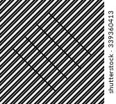 vector seamless pattern. modern ... | Shutterstock .eps vector #339360413