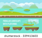 seamless nature landscape for...