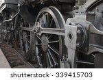 Steam Locomotive Detail With...