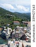 vernazza  one of five villages... | Shutterstock . vector #339427163