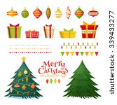 Christmas Greetings Set With...